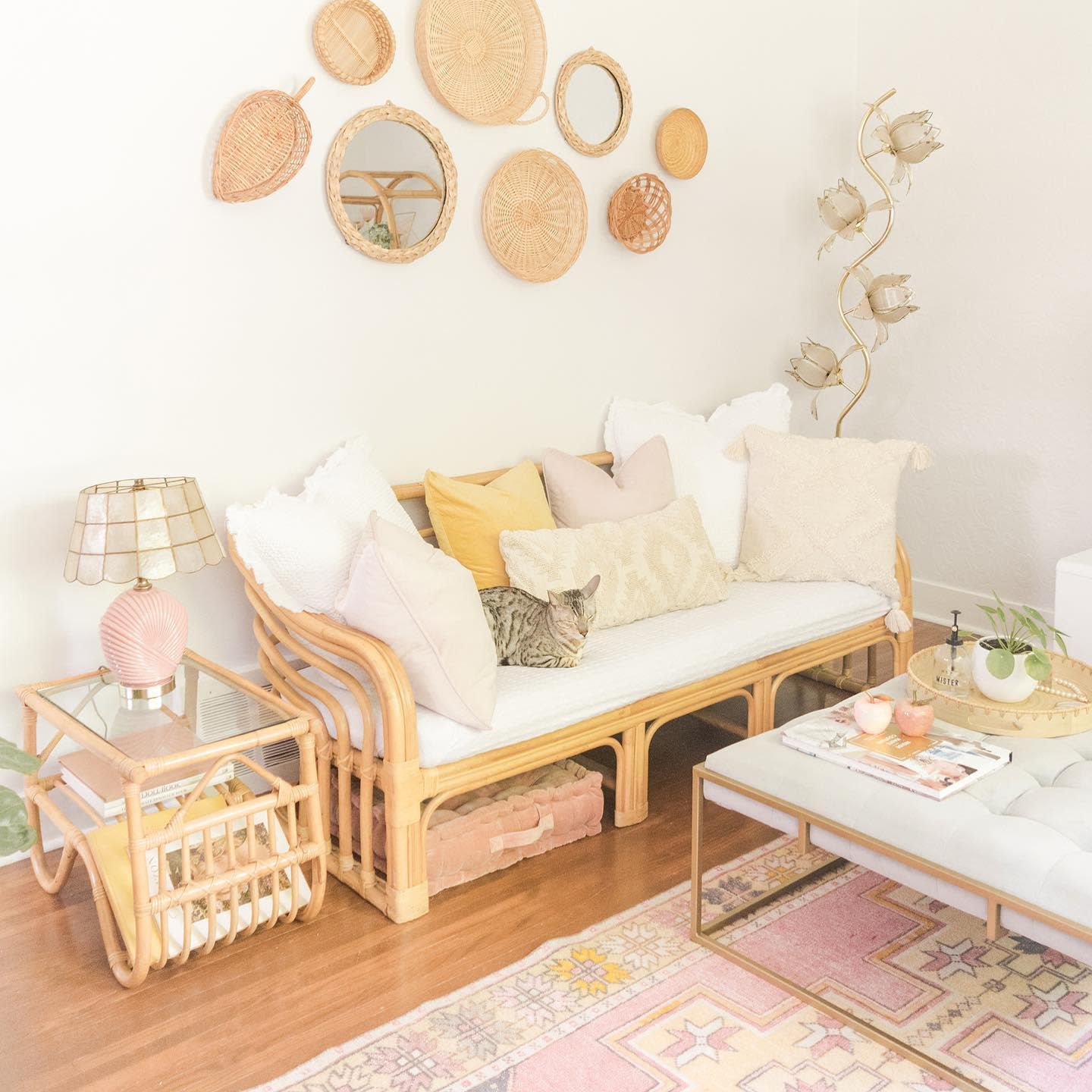 boho-aesthetic-room-ideas-thriftyrosehome