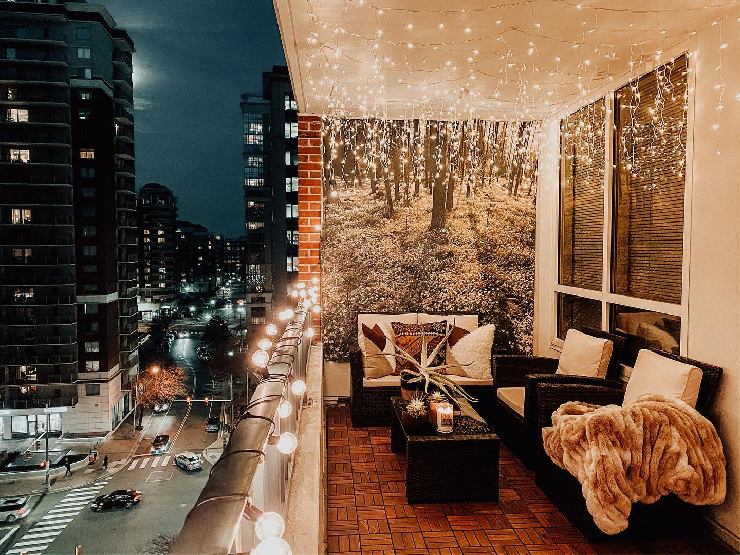 Balcony Lights Ideas -thedcnative