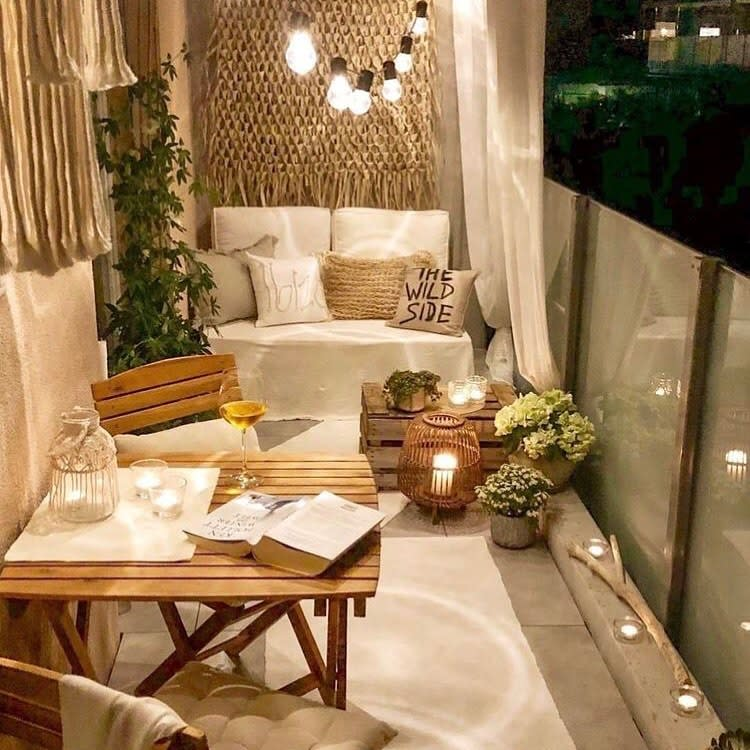 Small Balcony Ideas -royaldecor.ro