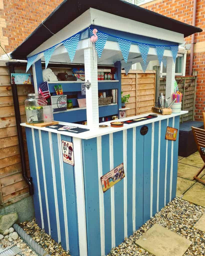 Bar Pallet Furniture Ideas -bluebellswan