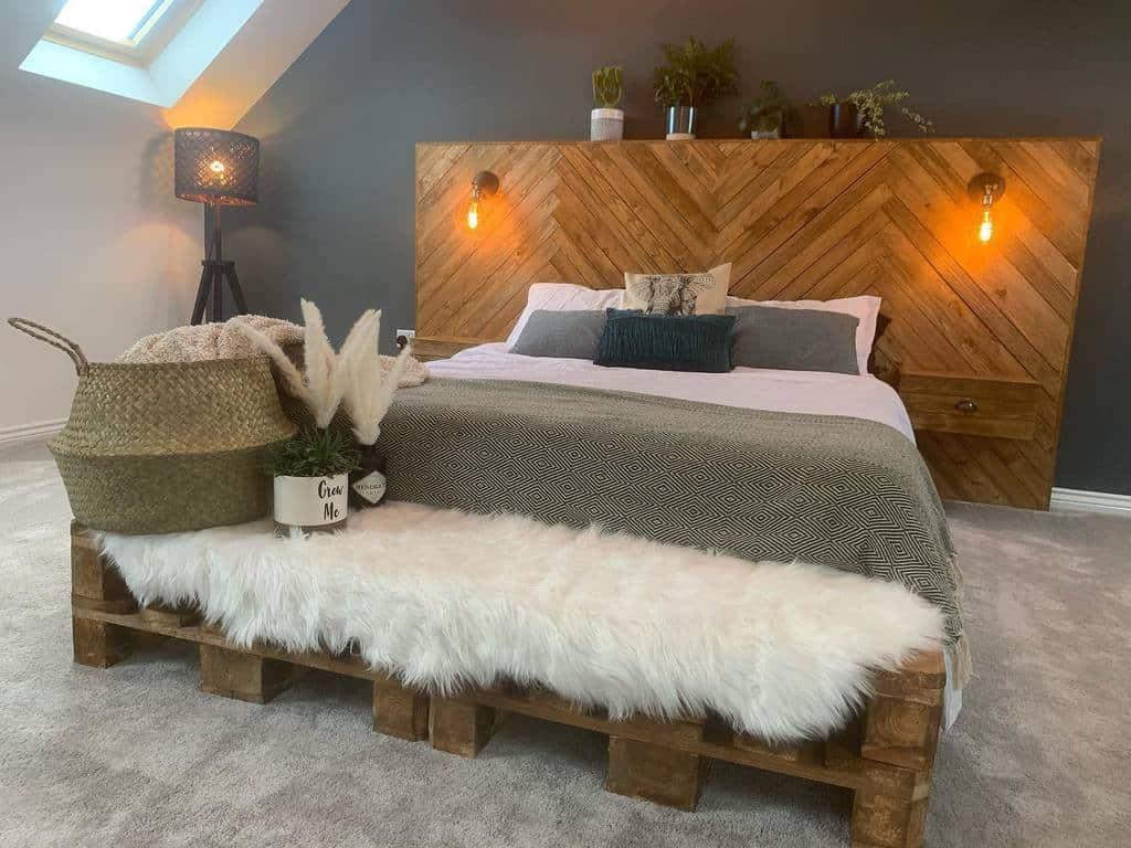 Bedroom Pallet Furniture Ideas -thesteeleresidencehousetohome