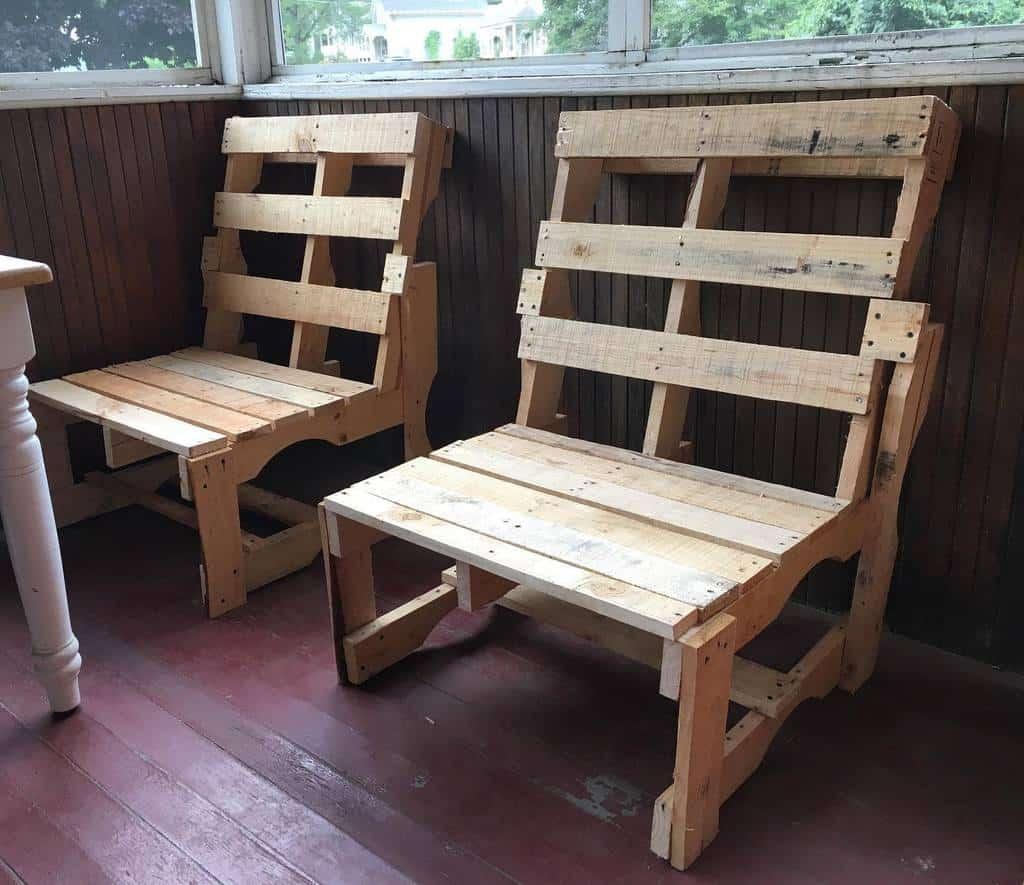 Chair Pallet Furniture Ideas -eyeadon413