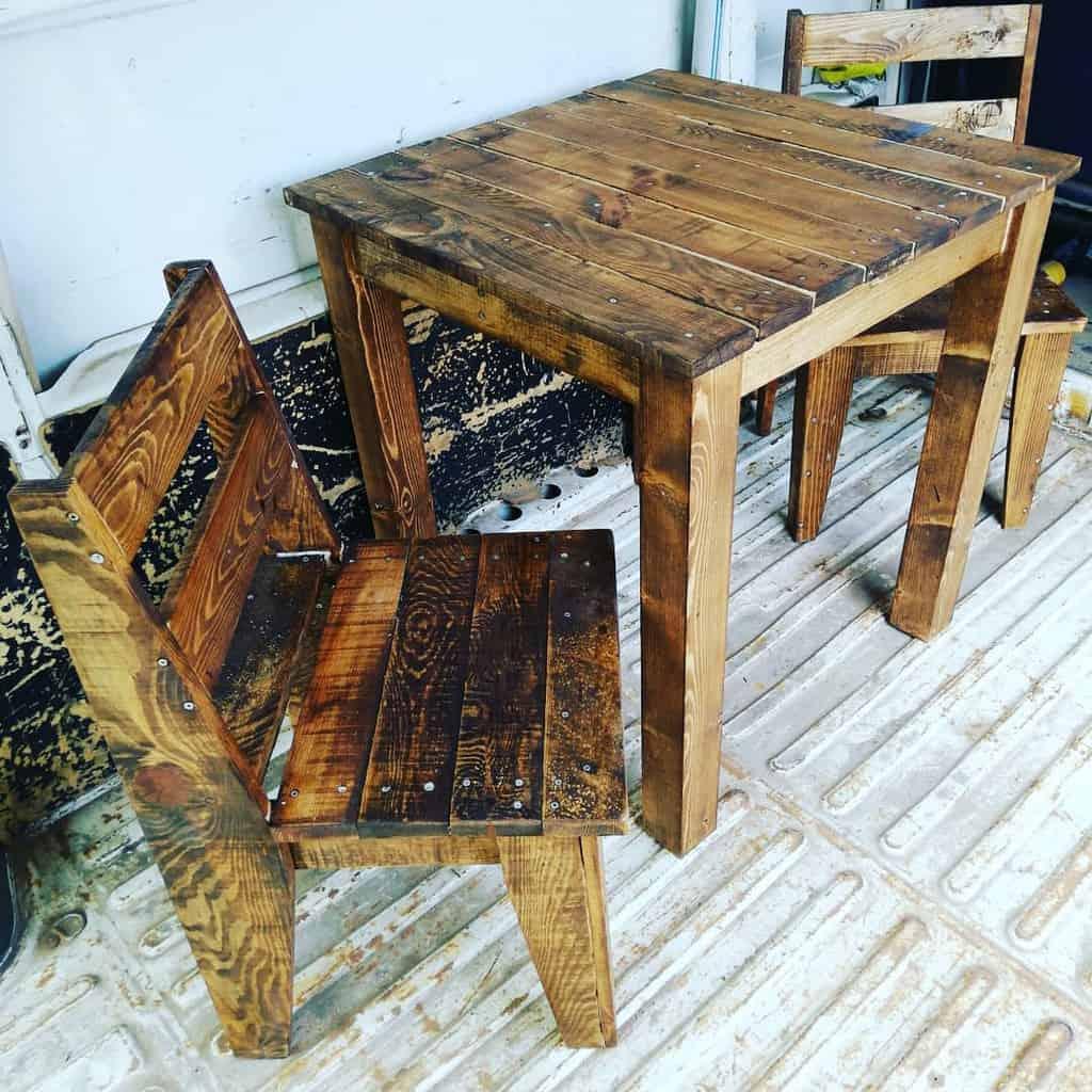 Chair Pallet Furniture Ideas -sokakmarangozu