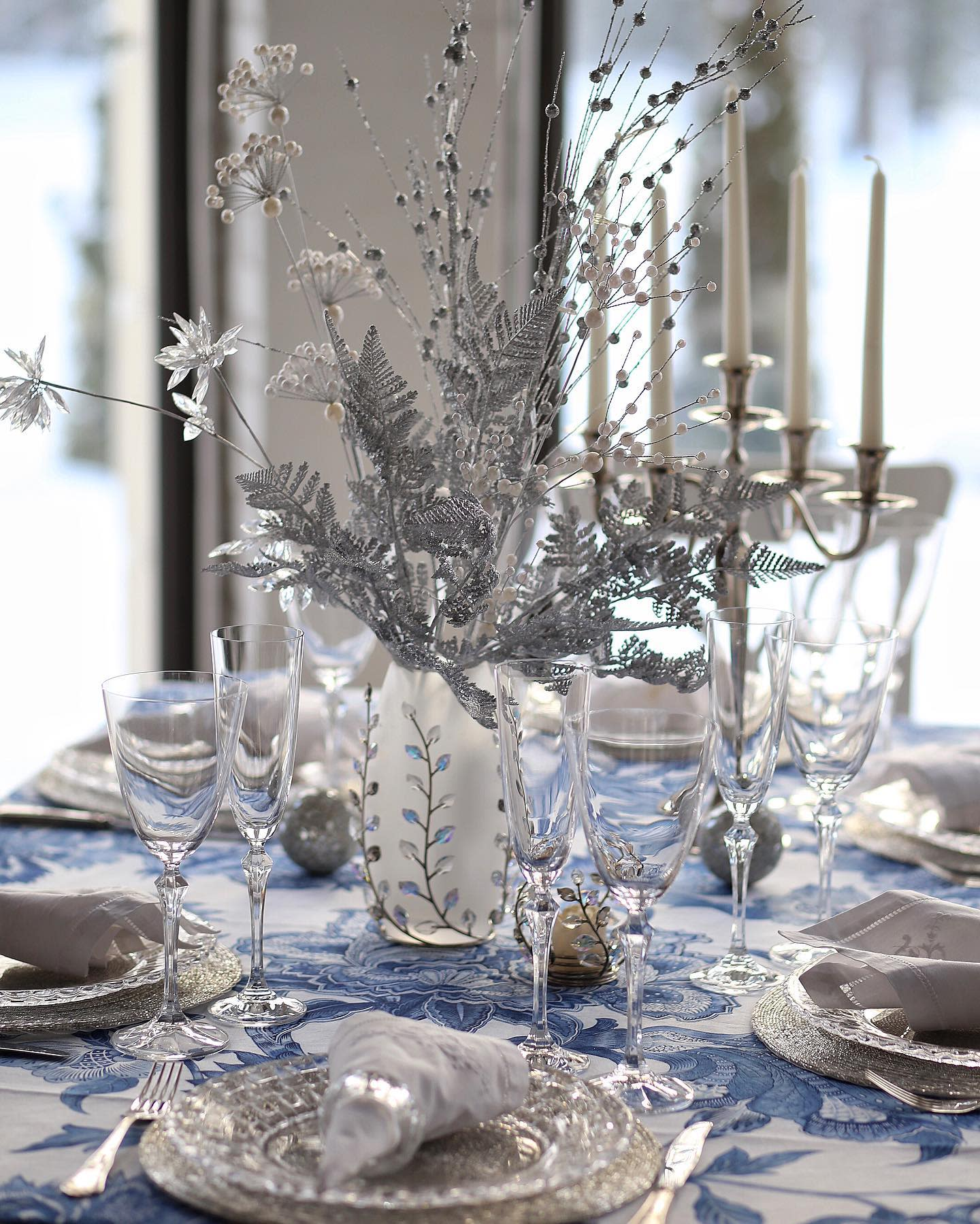 Table Christmas Decorating Ideas -an.brys