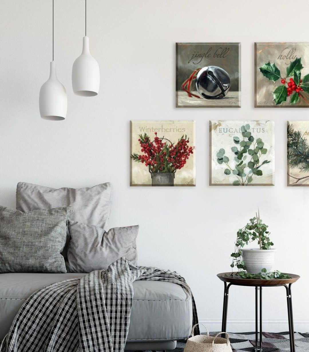 Wall Christmas Decorating Ideas -darrengygihomecollection