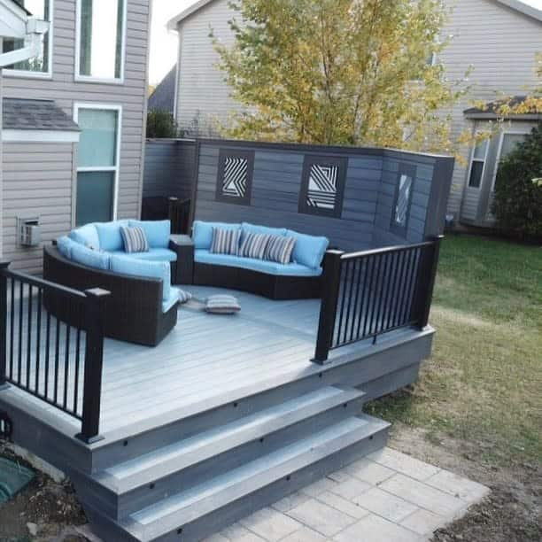Deck Outdoor Privacy Screen Ideas -cmrohio