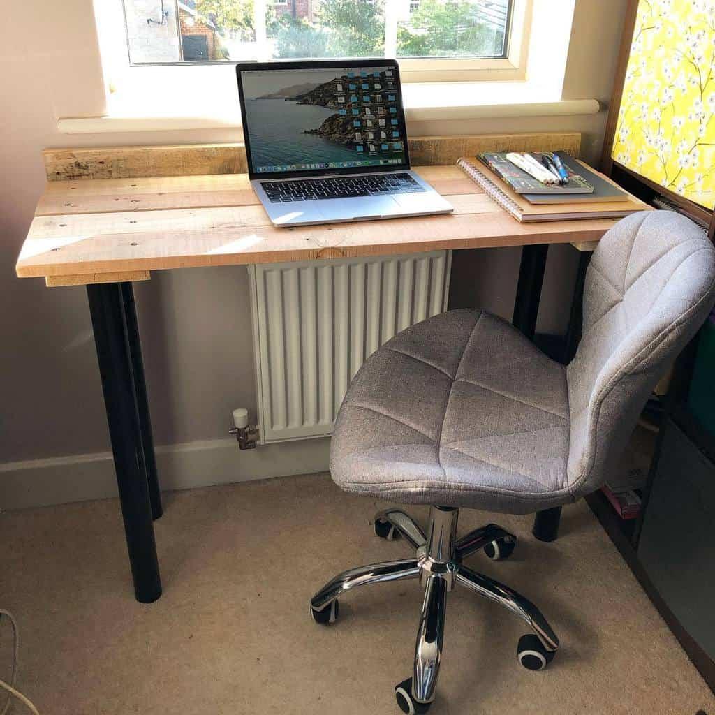 Desk Pallet Furniture Ideas -katy.dyers