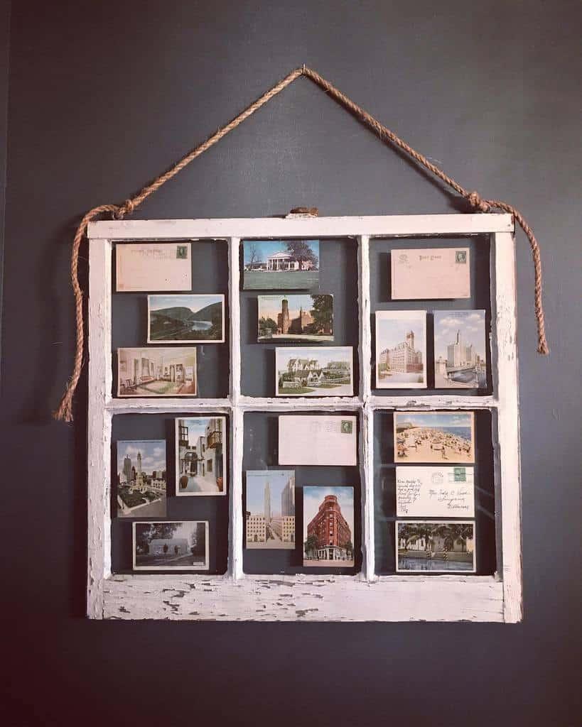 Frame Old Window Ideas -dogwood.farm.charm