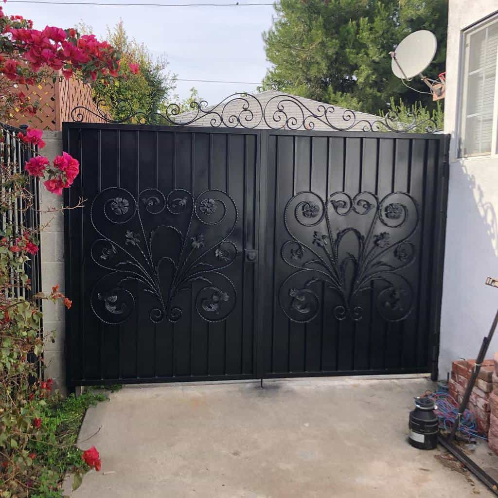 Gate Outdoor Privacy Screen Ideas -thewelderman17
