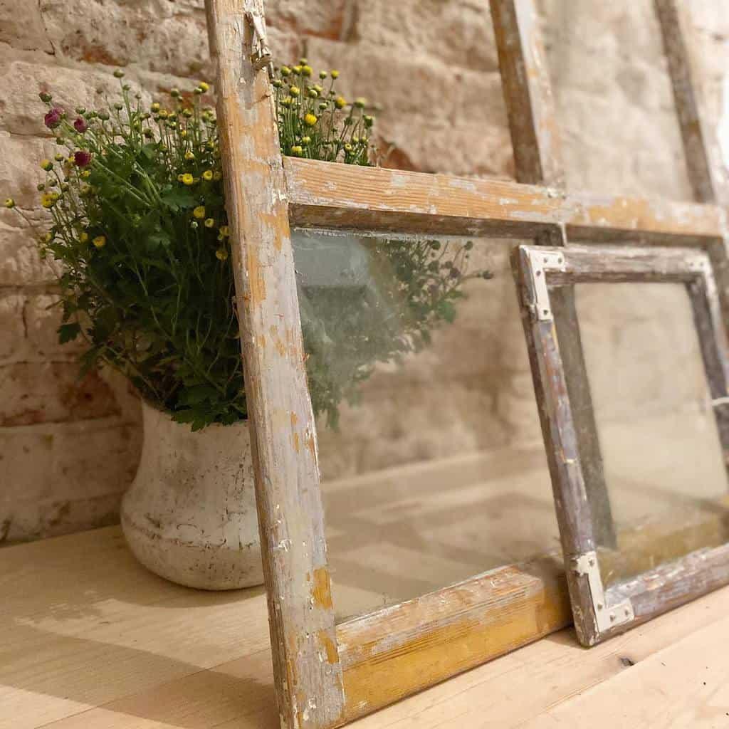 Glass Old Window Ideas -dyczkom
