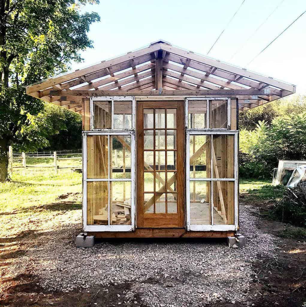 Greenhouse Old Window Ideas -oldwoodhollow