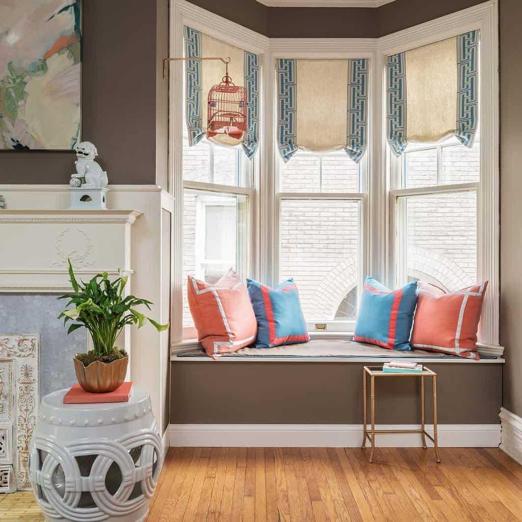 Modern Bay Window Ideas -suzannetullockinteriors