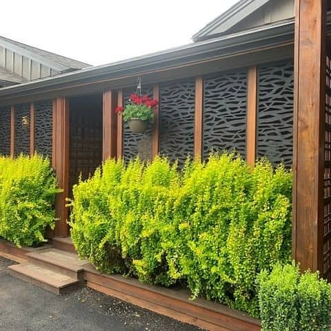 Modern Outdoor Privacy Screen Ideas -soundcedar