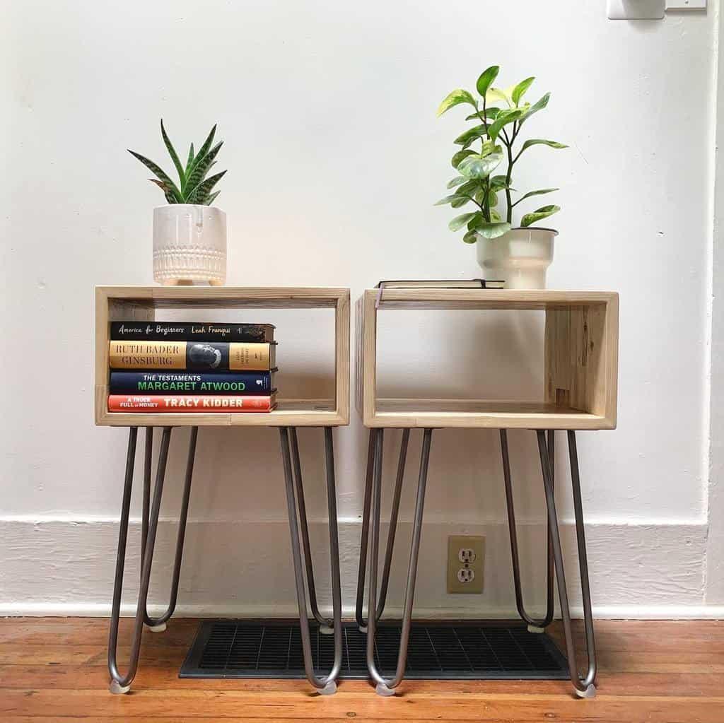 Nightstand Pallet Furniture Ideas -mjdwoodgoods