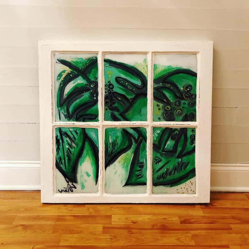 Painted Old Window Ideas -sydneyhcreations