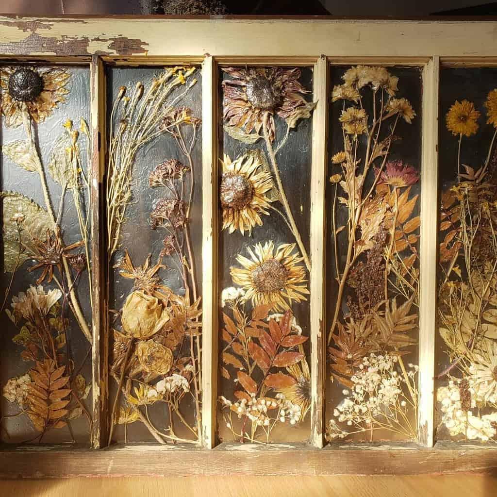 Recycled Old Window Ideas -riversidecraftsco