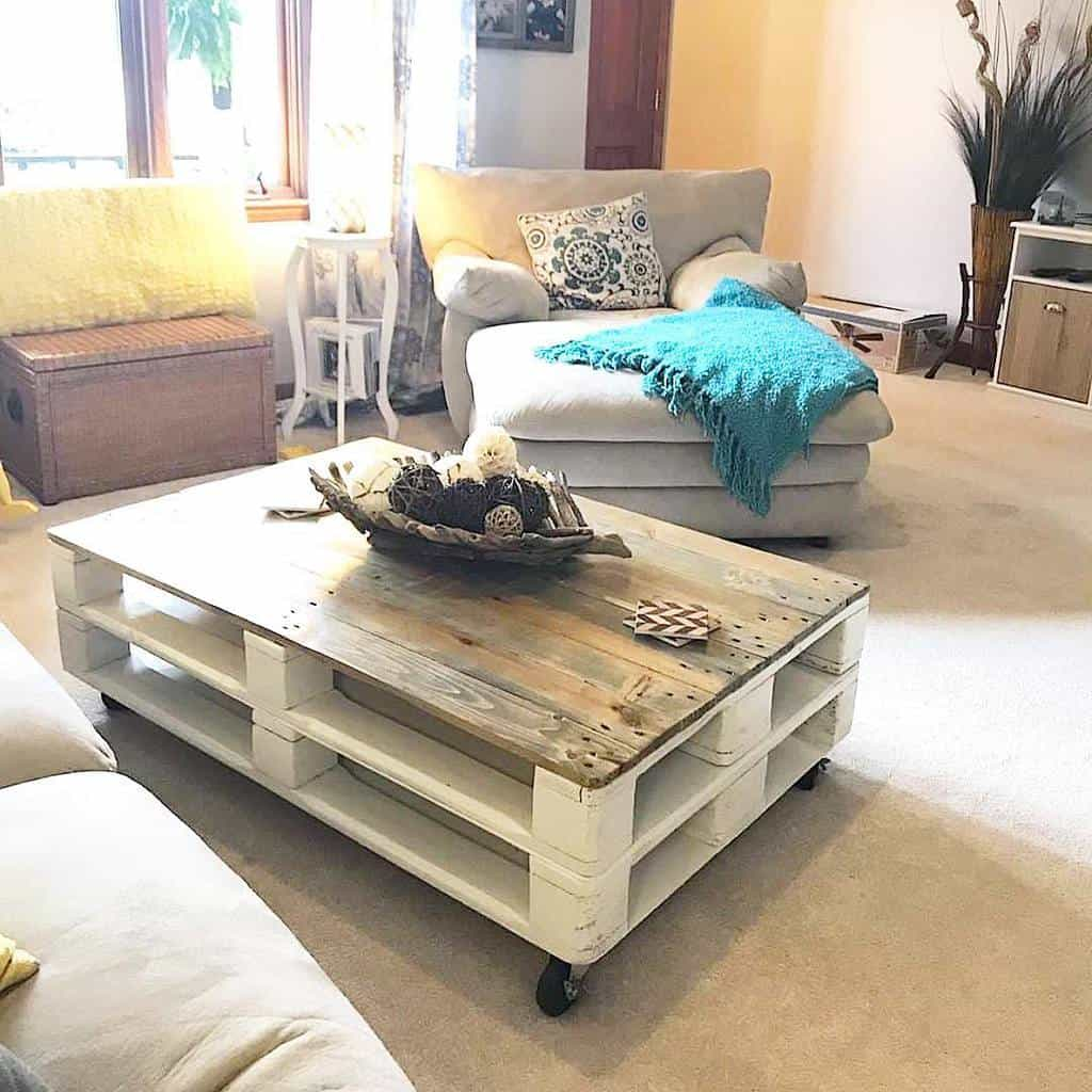 Recycled or Upcycled Pallet Furniture Ideas -love_of_the_grain_workshop