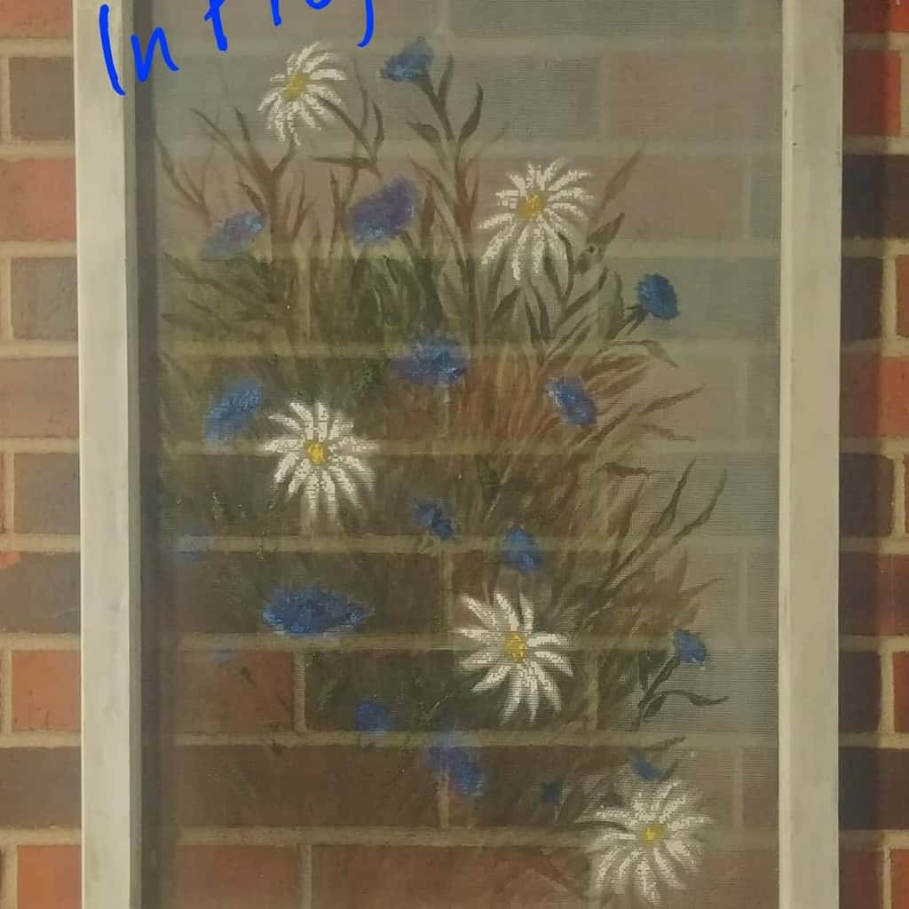 Screen Old Window Ideas -salvage_candy