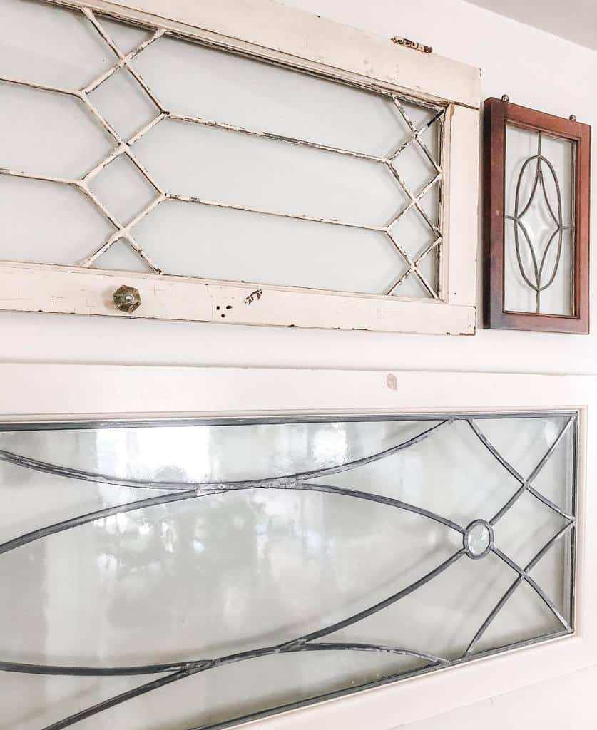 Shabby Chic Old Window Ideas -theminiaturecolonial