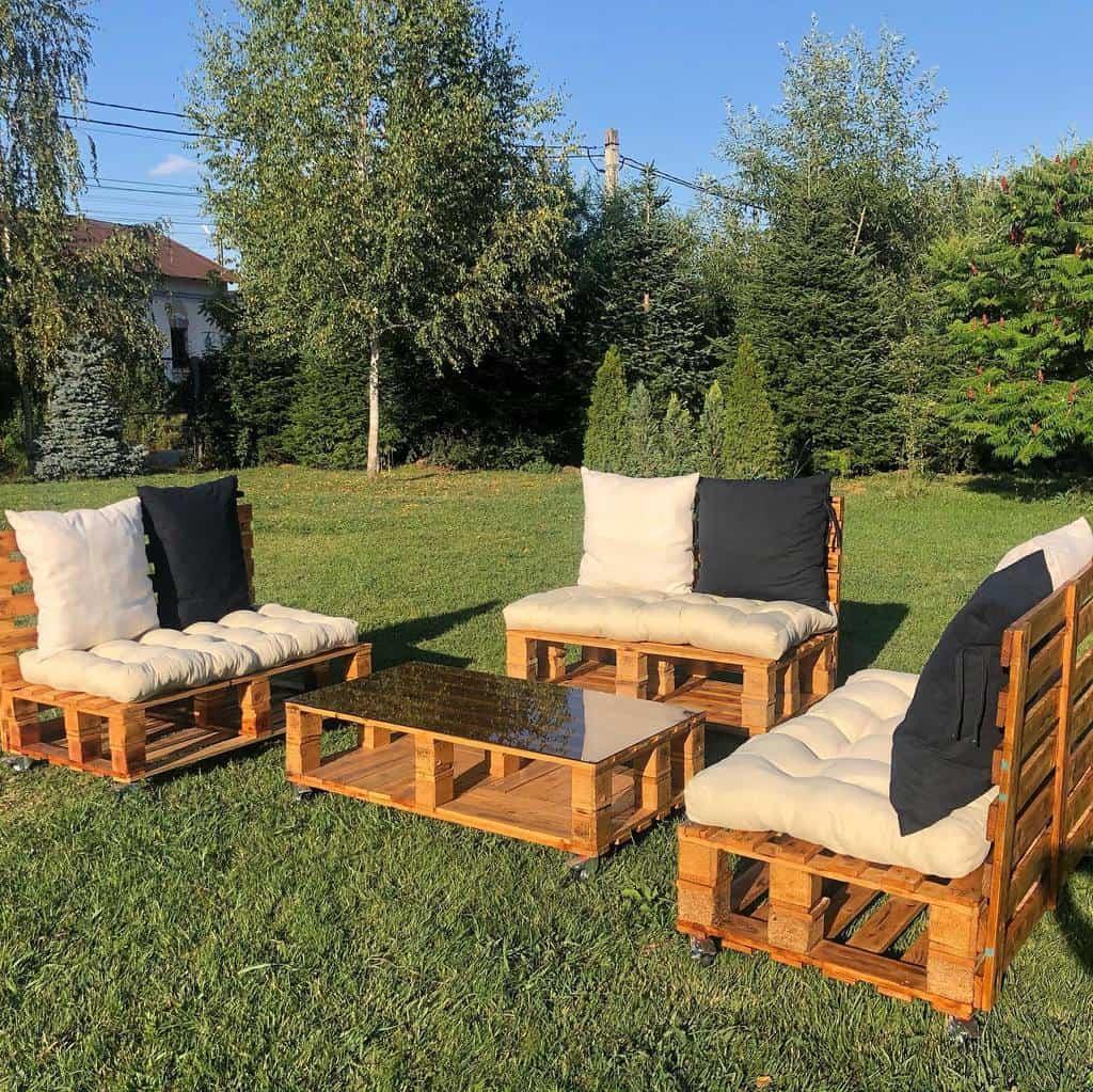 Sofa Pallet Furniture Ideas -pallets.garden