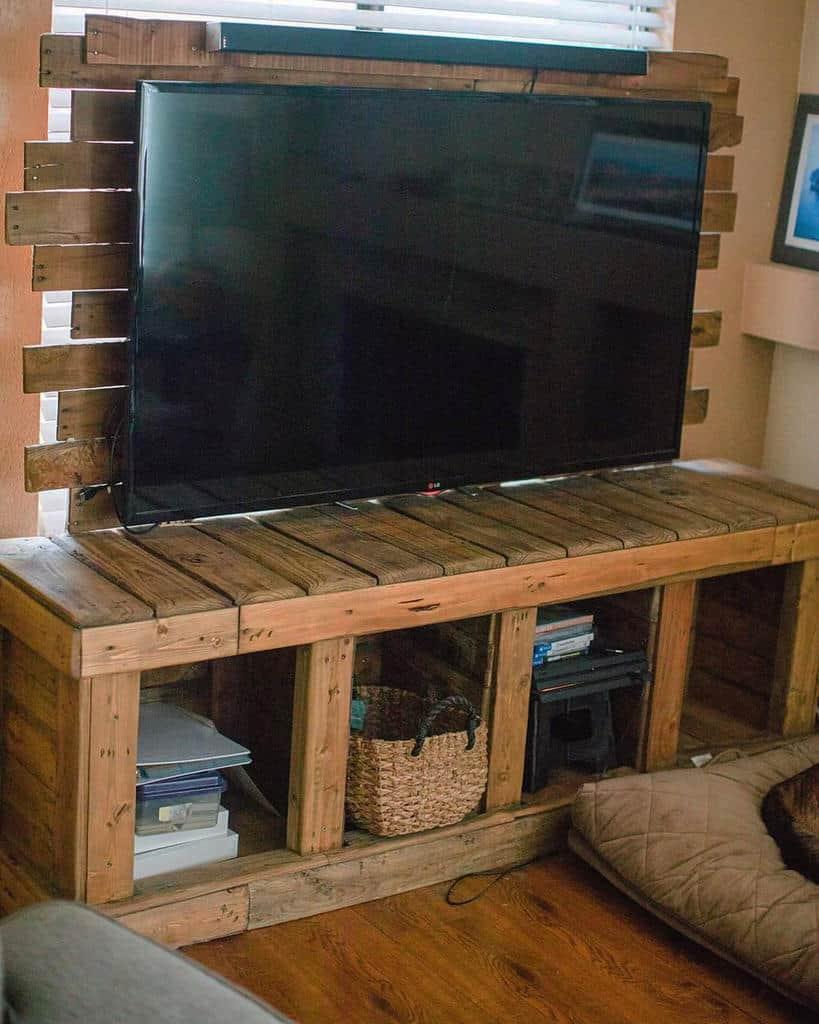 TV Stand Pallet Furniture Ideas -kells_wood_works