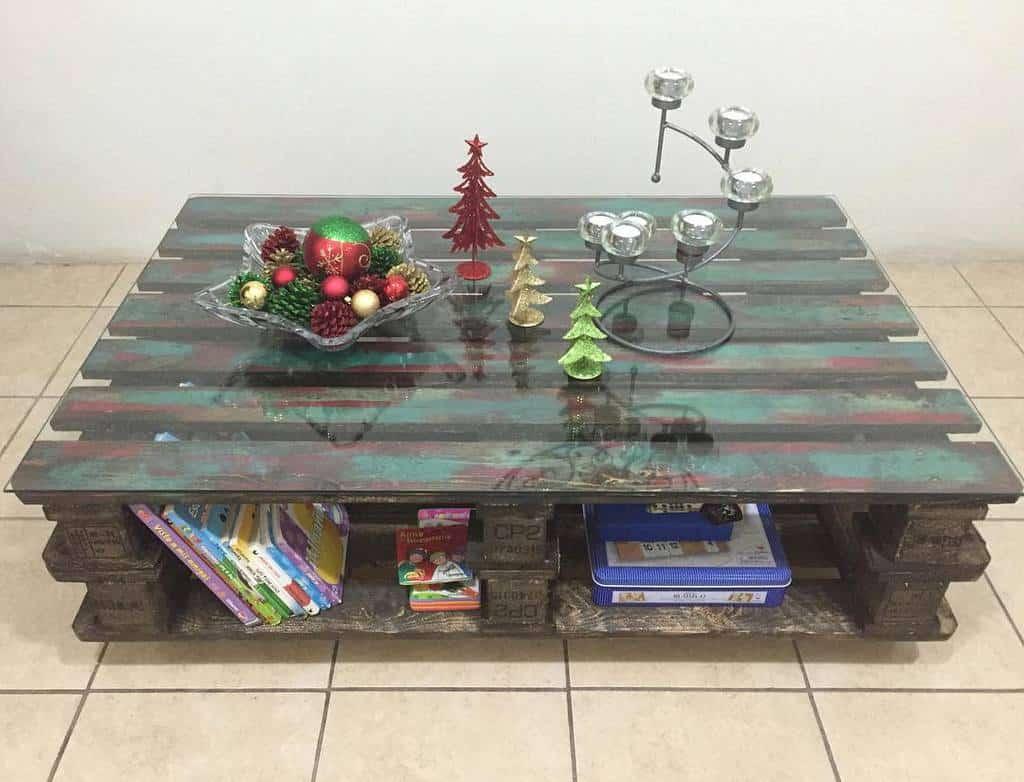 Table Pallet Furniture Ideas -claudiahernandezdelcid