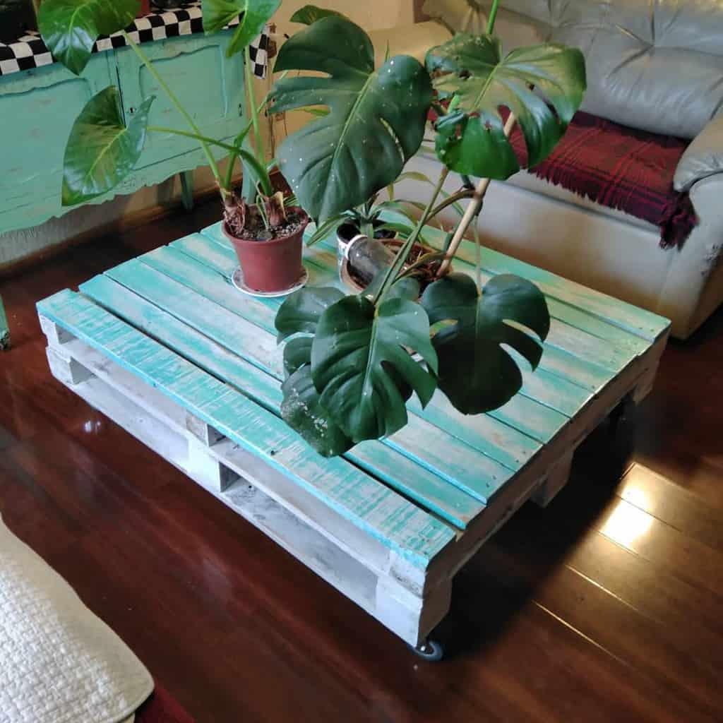 Table Pallet Furniture Ideas -hacerporhaceryaprender.klak