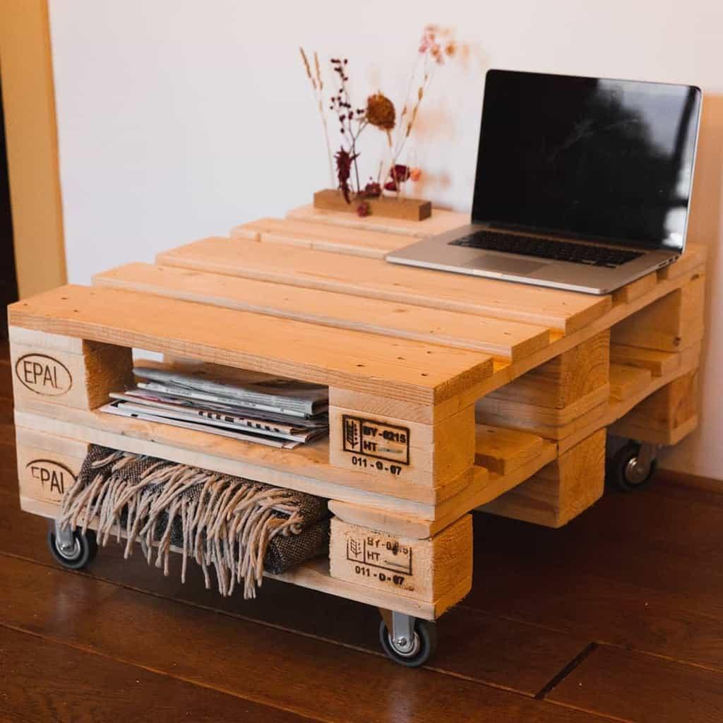 Table Pallet Furniture Ideas -perfectpallet.nl