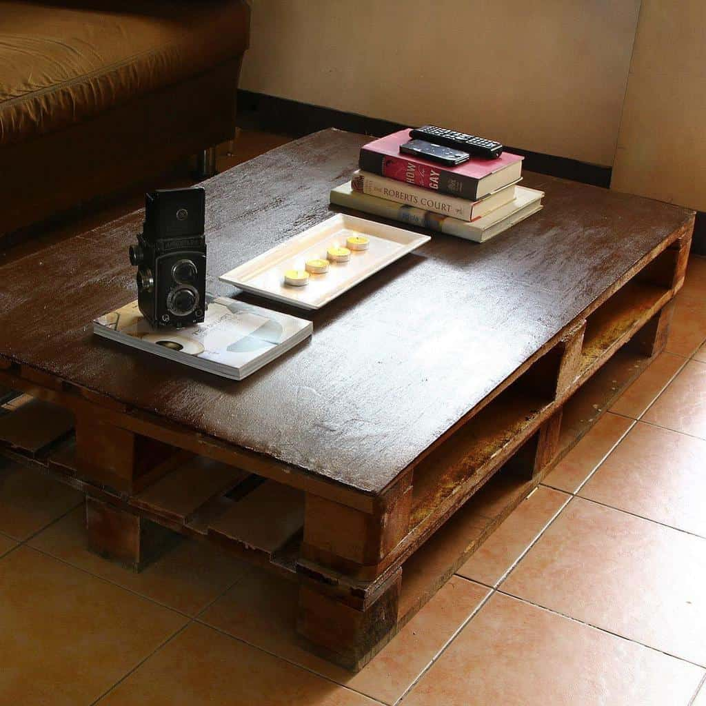 Table Pallet Furniture Ideas -upcycledminds