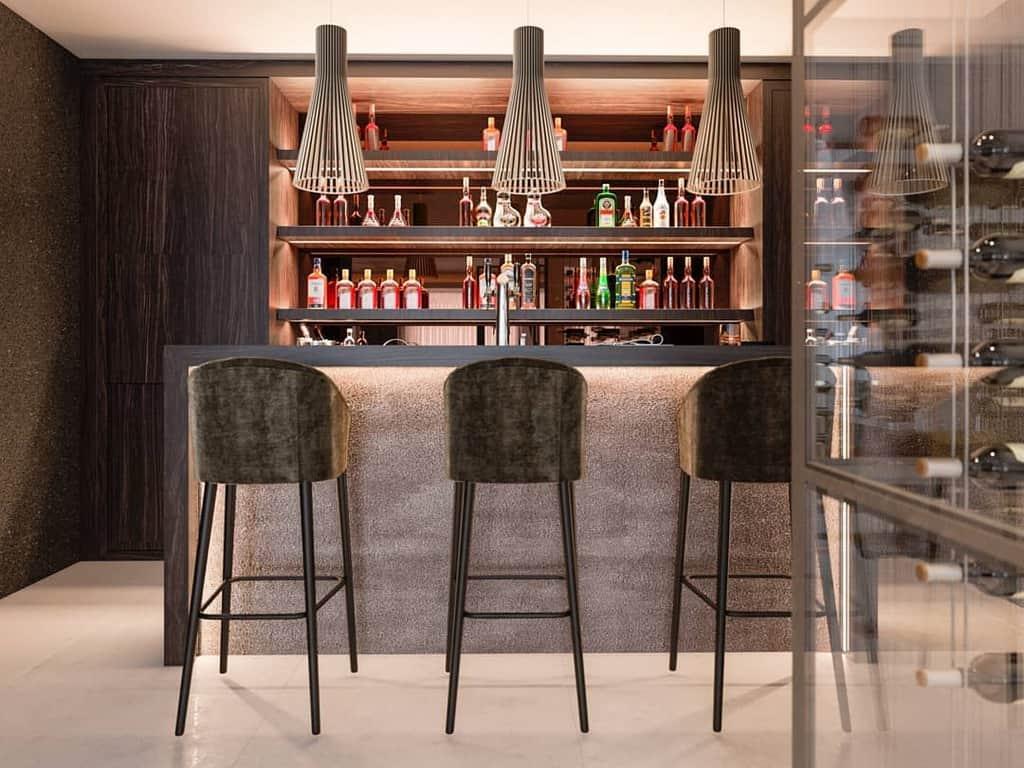 Basement Wine Rack Ideas -originalsinteriorsmarbella
