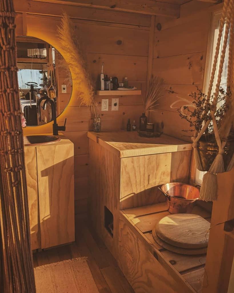 Bathroom Tiny House Ideas -woollymammothtiny