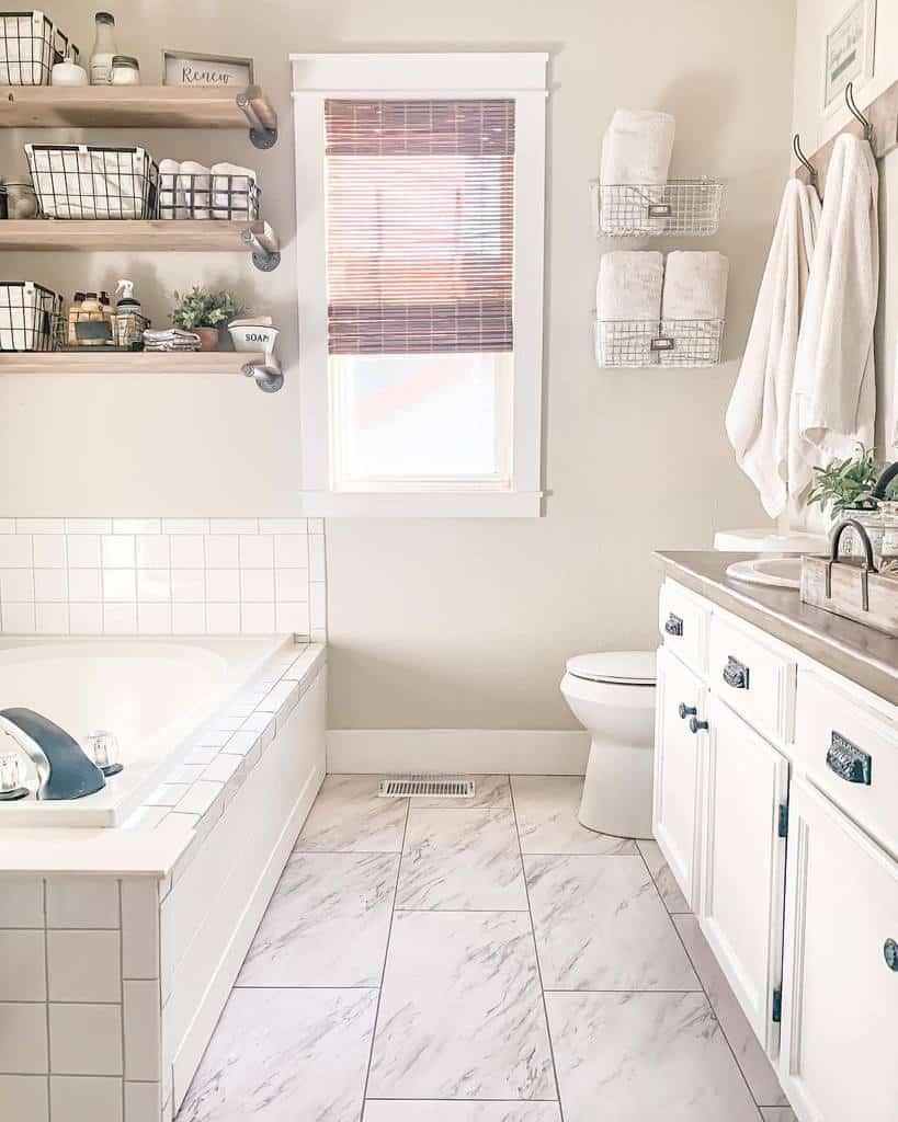 Bathroom Towel Holder Over The Toilet Storage Ideas -simplybeautifulbyangela