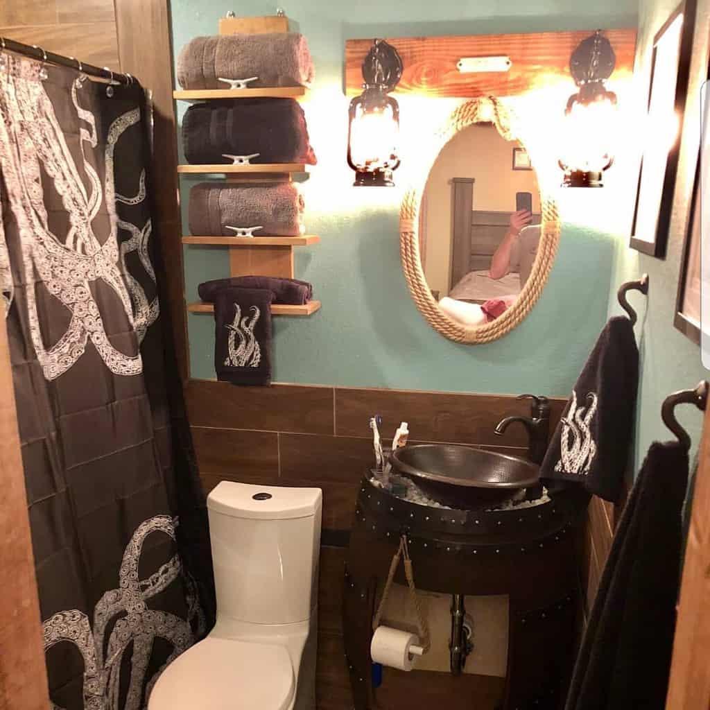 Bathroom Towel Holder Over The Toilet Storage Ideas -upfinishedfurniture
