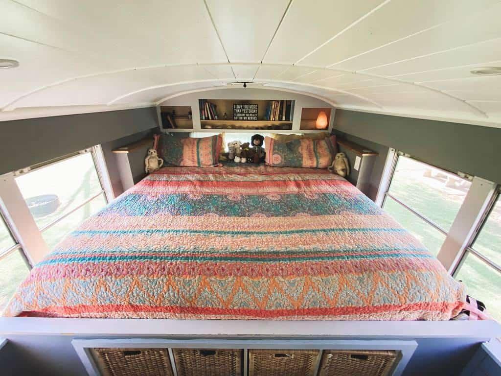 Bedroom Tiny House Ideas -sweetsweetbuslife
