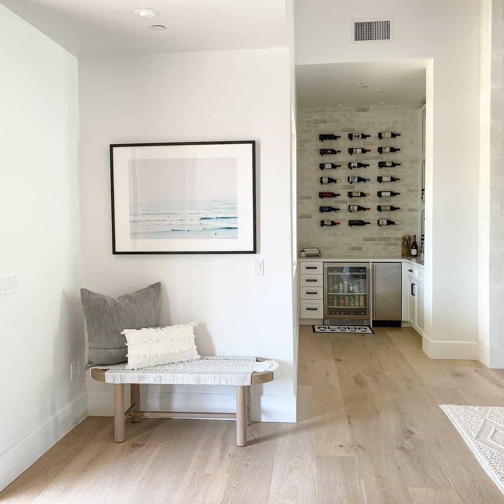 Bench Small Entryway Ideas -coastalfarmhousersf