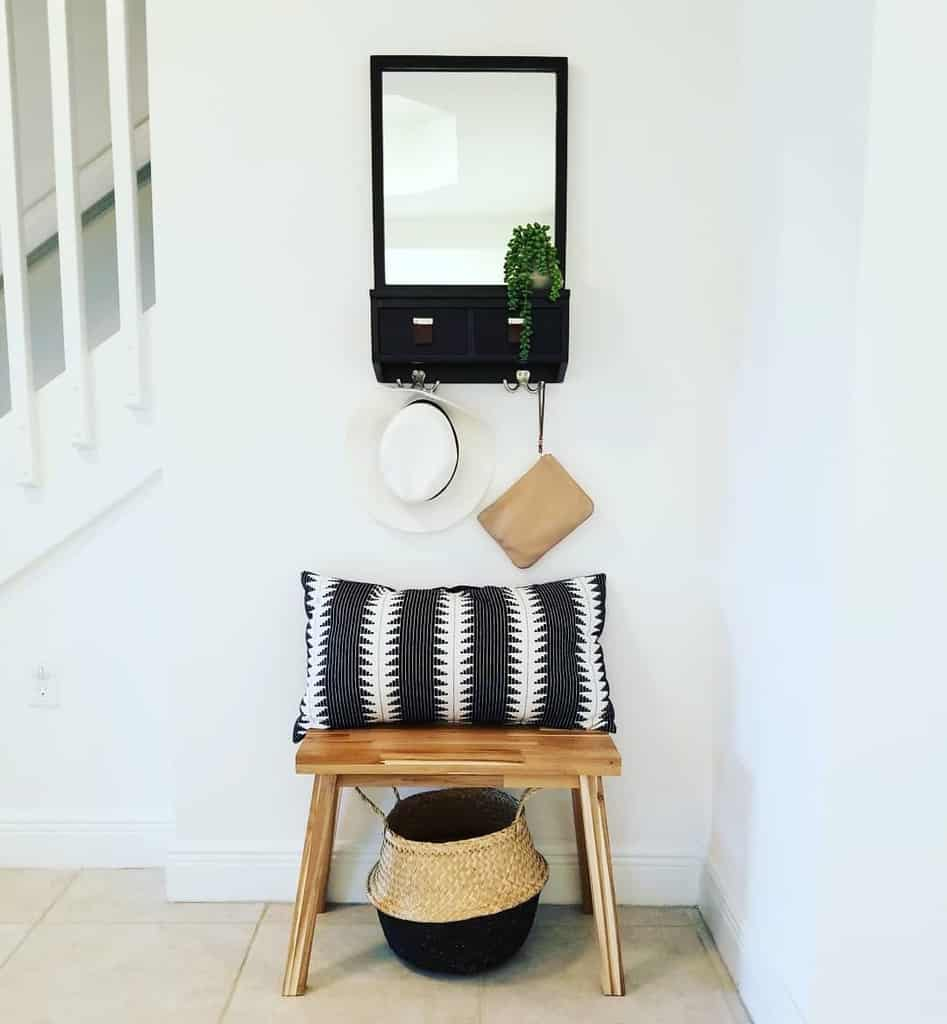 Bench Small Entryway Ideas -the_olive_studio