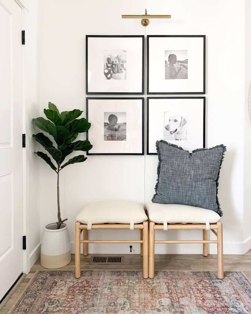 Bench Small Entryway Ideas -thefontaineflat
