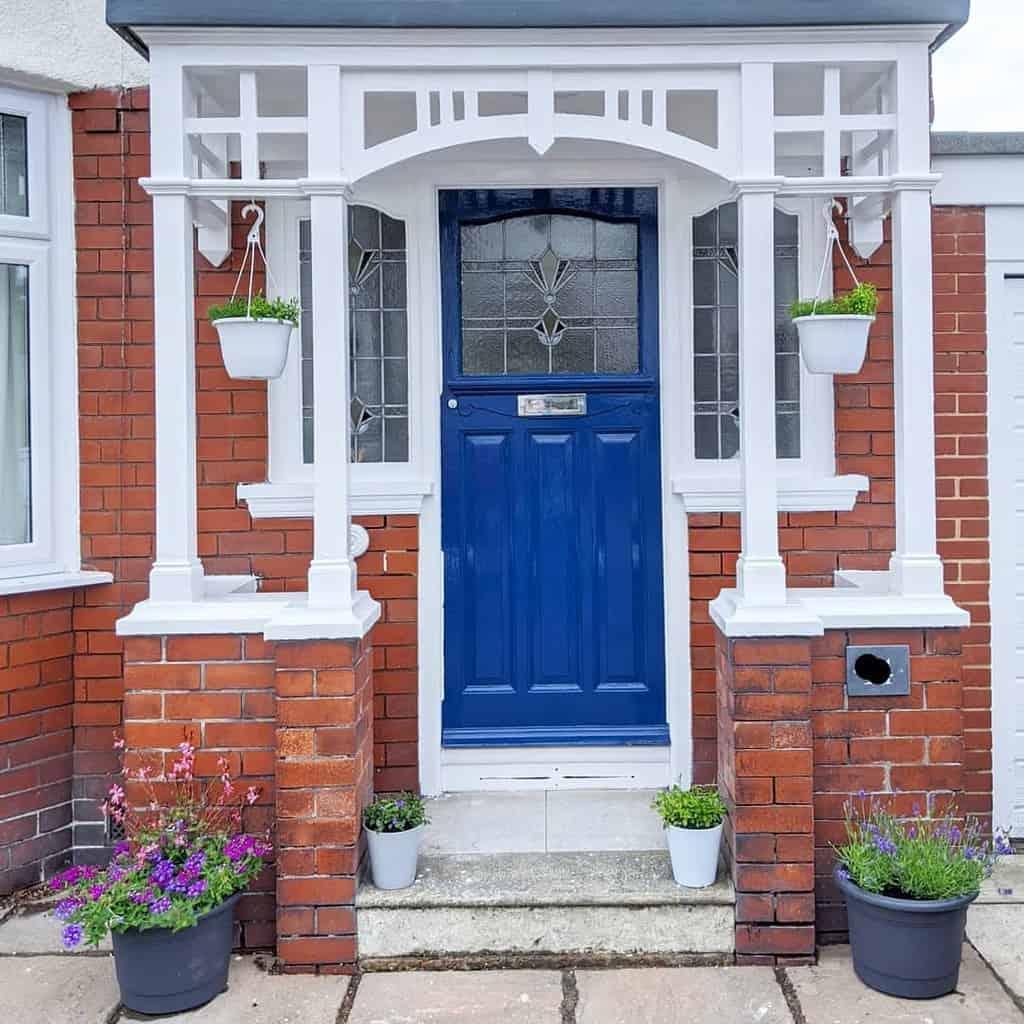 Blue Front Door Ideas -back.to.brick.14