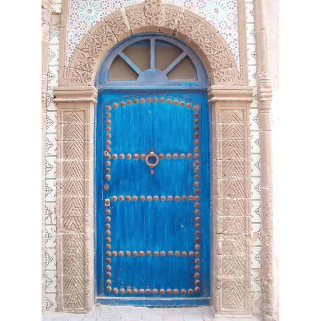 Blue Front Door Ideas -outdoorsnapper