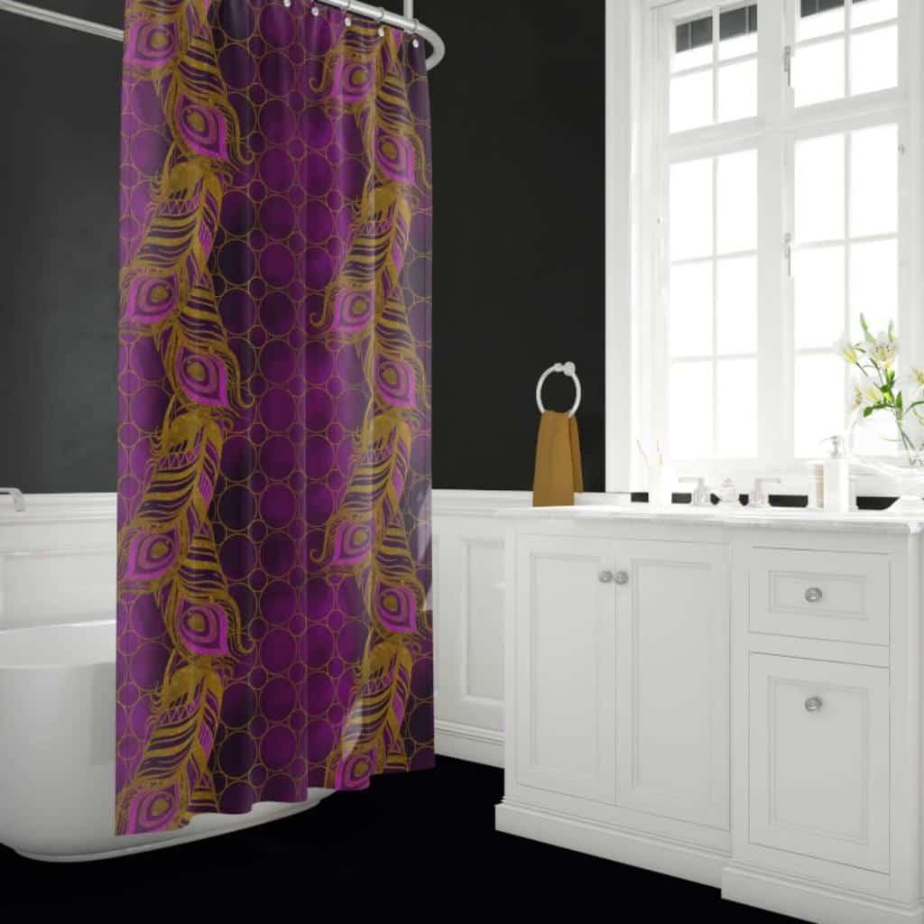 Boho Shower Curtain Ideas -4ucostumes
