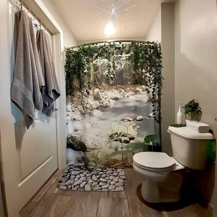 Boho Shower Curtain Ideas -ralufineart