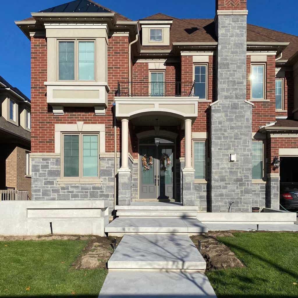 Brick Curb Appeal Ideas -newgenconcrete.ca