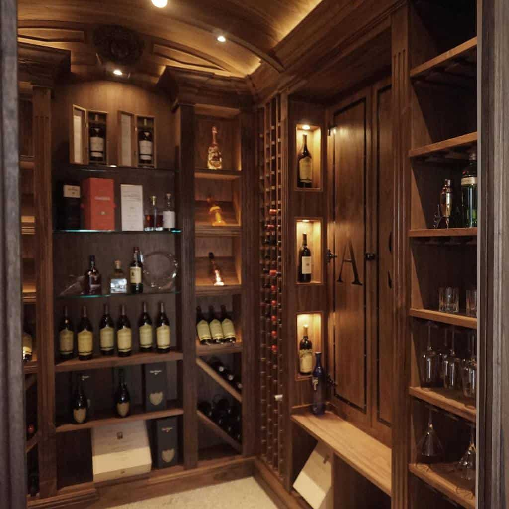 Built In Wine Rack Ideas -designfirmllc