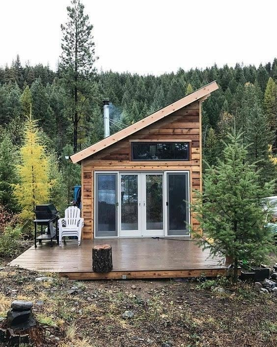 Cabin Small House Ideas -timetovblogs