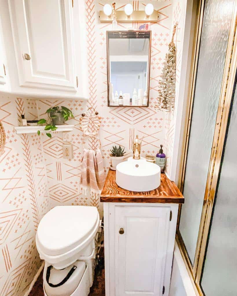 Cabinet Over The Toilet Storage Ideas -the_ramblr_rv