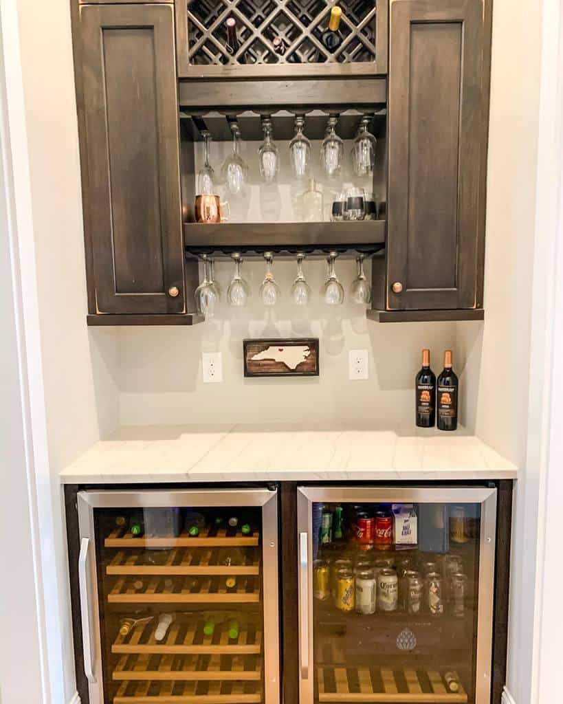Cabinet Wine Rack Ideas -home_on_providence_hill