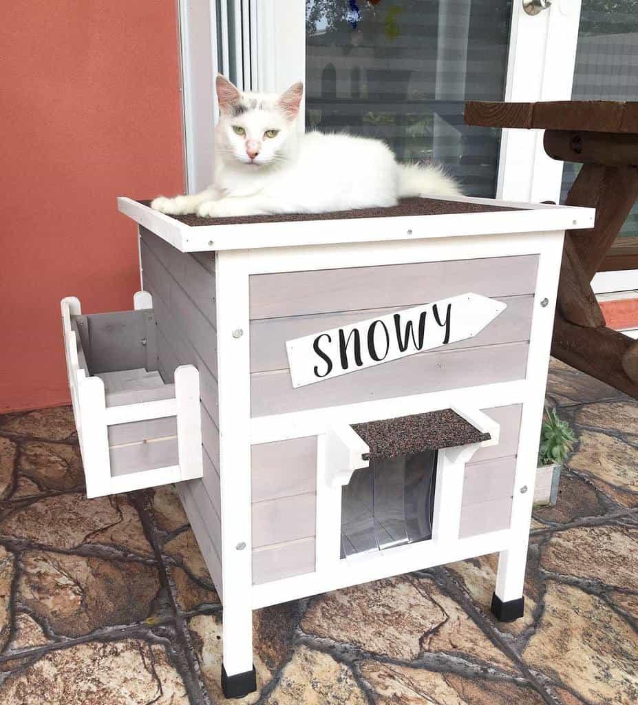 Cat House Catio Ideas -acatnamedsnowy