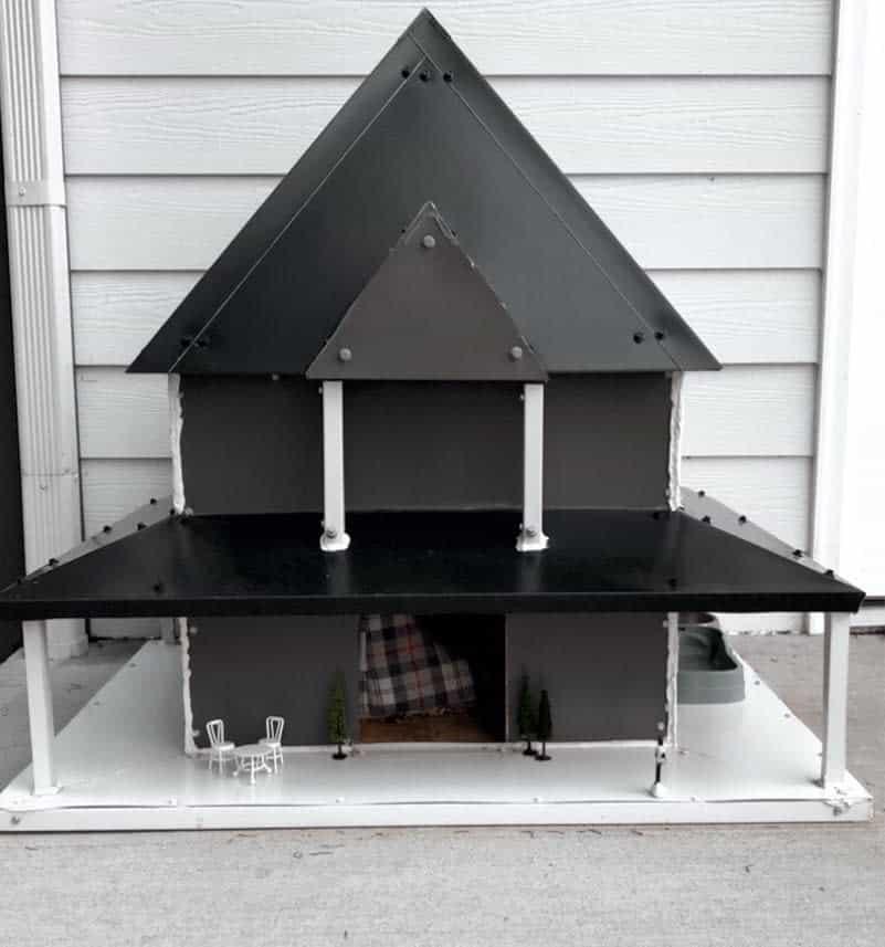 Cat House Catio Ideas -faithsfarmhouse
