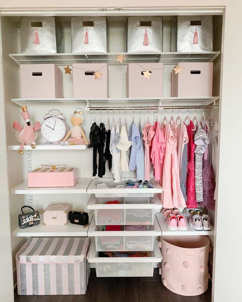 Children Clothes Storage Ideas -ashleylovinginteriors