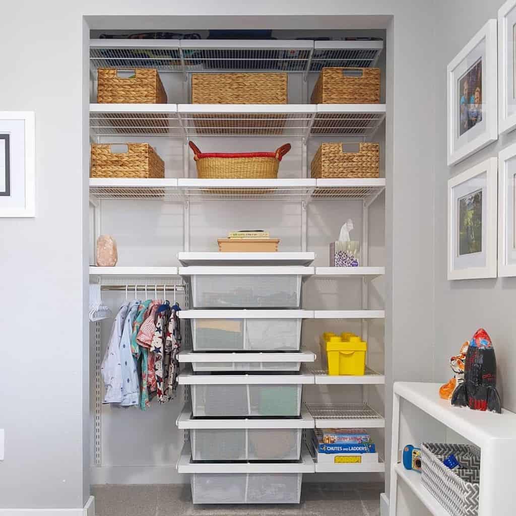 Children Clothes Storage Ideas -sankalpa_spaces